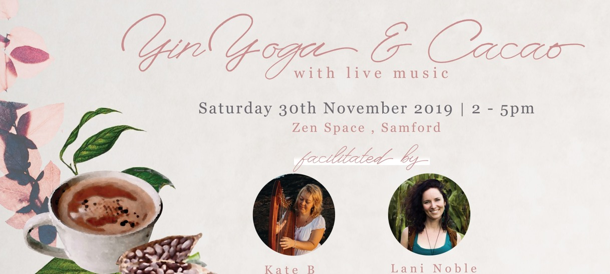 Yin Yoga & Cacao with Live Music –Brisbane